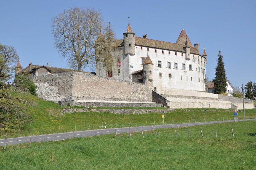 Chäteau d'Oron à Oron-le-Châtel en Suisse.